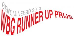 Genomineerd Runner-Up prijs 2013 (groot)